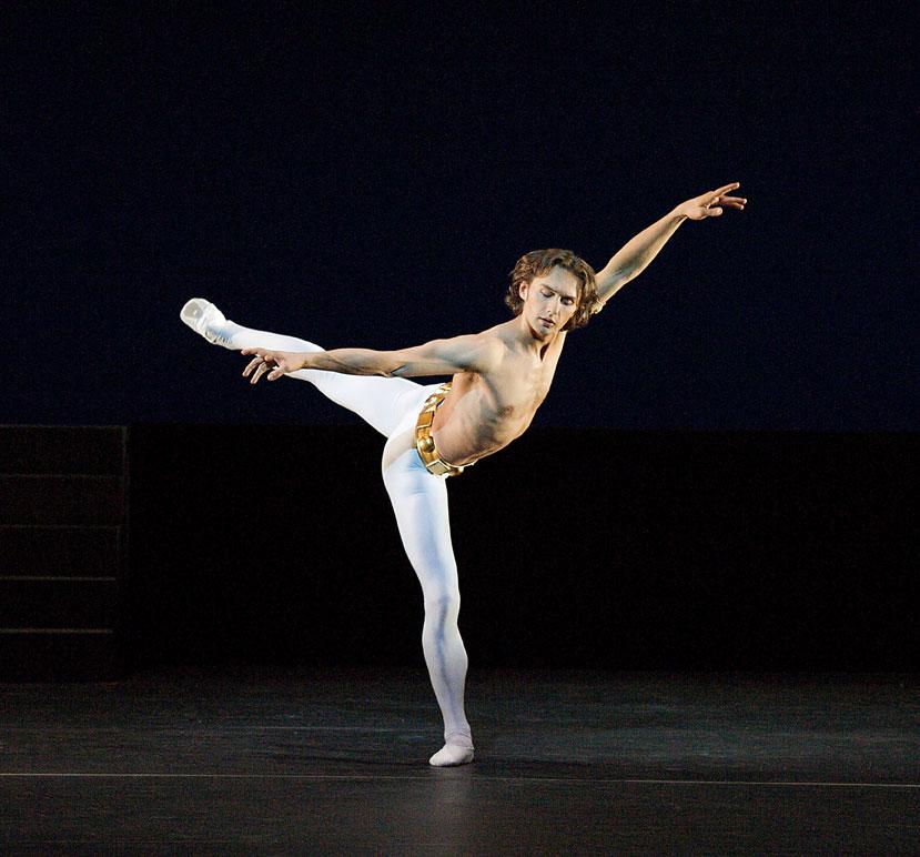 Ivan Putrov dances in Men in Motion