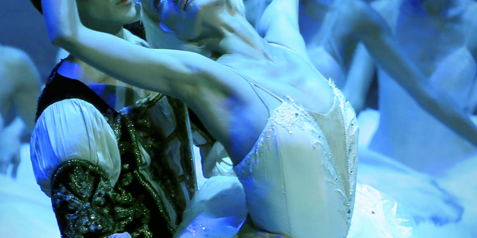 A production image from St Petersburg Ballet's Swan Lake