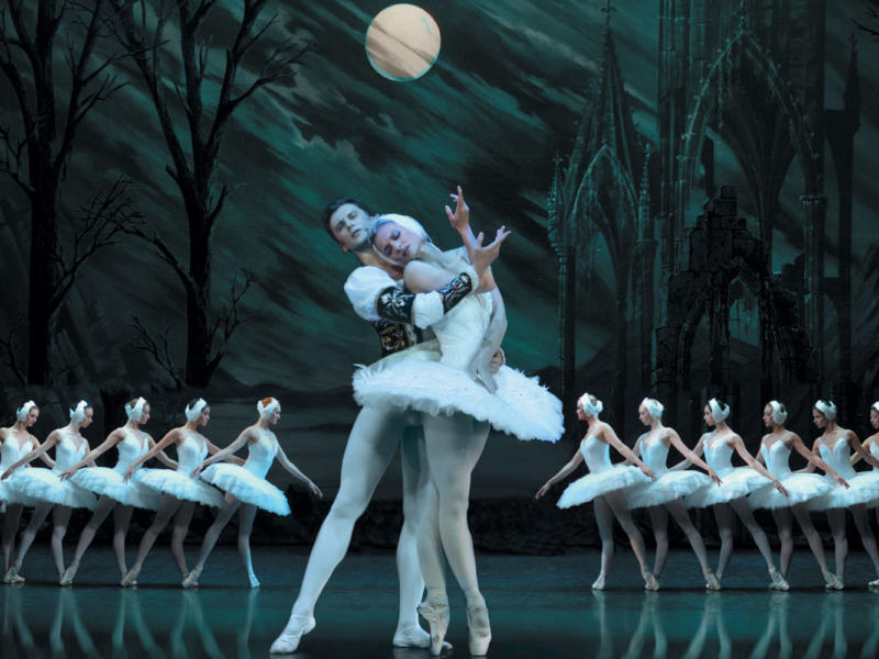 An image of Irina Kolesnikova in St Petersburg Ballet Theatre's production of Swan Lake