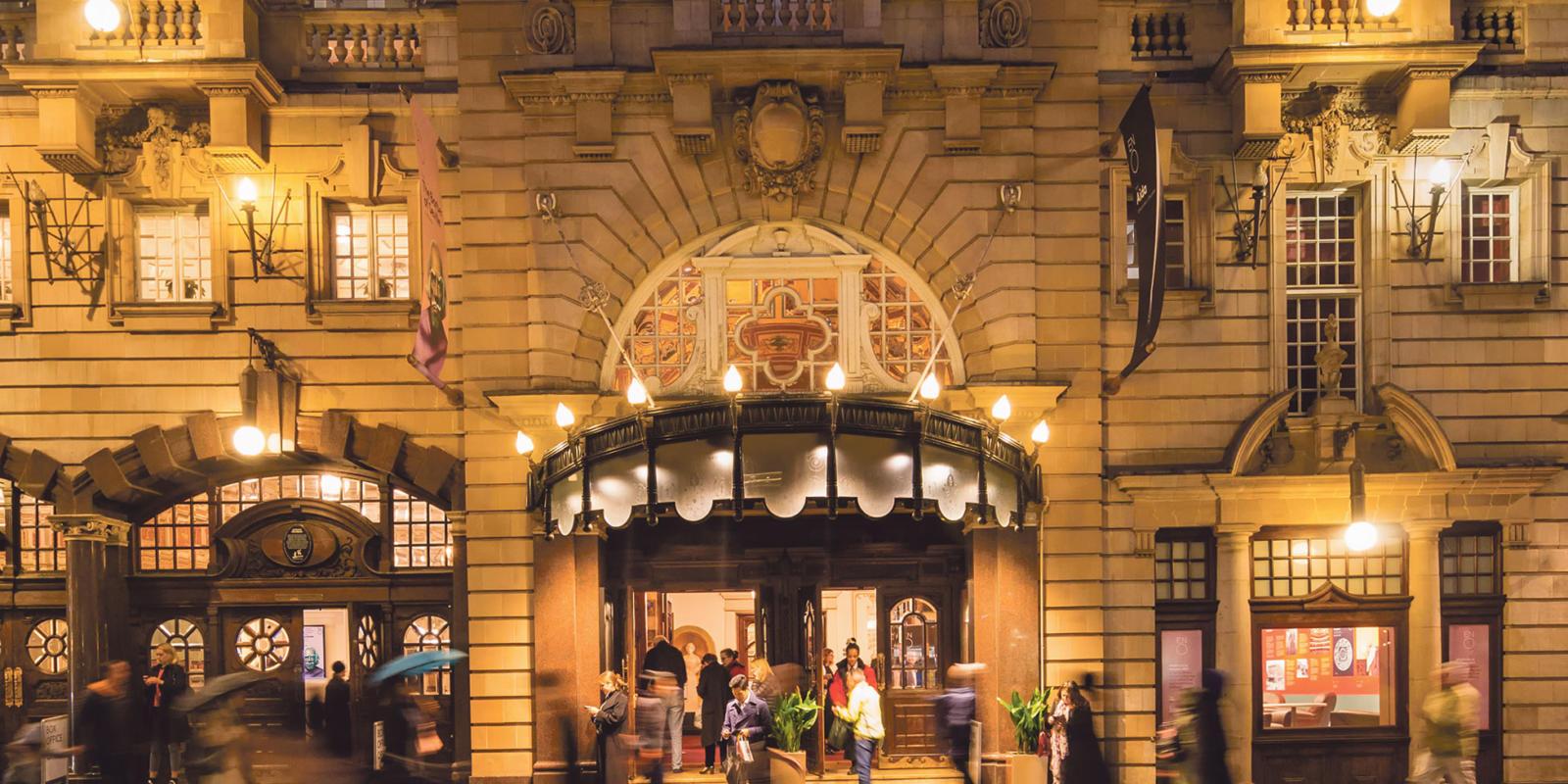 London Coliseum front doors